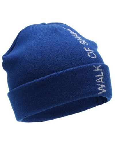 Голубая шапка хлопковая Walk Of Shame