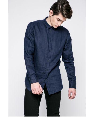 Рубашка однотонная Trussardi Jeans