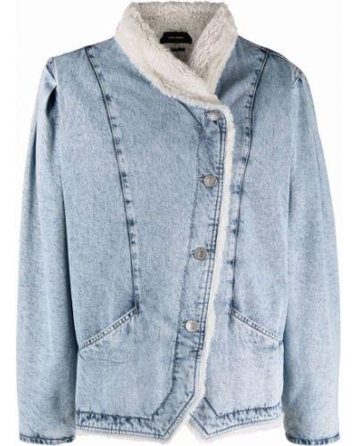Синий пиджак асимметричного кроя Isabel Marant