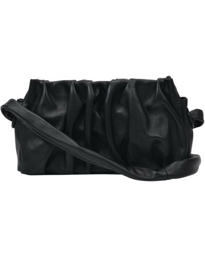 Czarna torebka skórzana Elleme