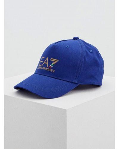 Синяя кепка Ea7