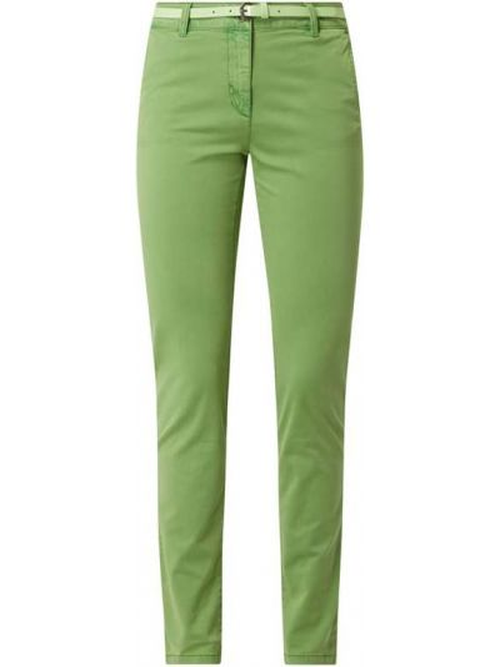 Bawełna bawełna zielony chinosy z kieszeniami Tom Tailor