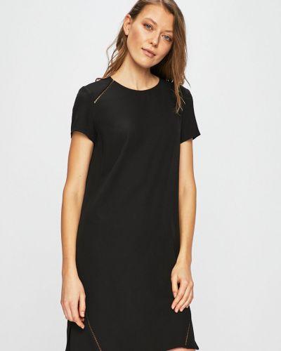 Платье мини прямое с вырезом Trussardi Jeans