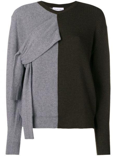 Z kaszmiru sweter - zielony Carven