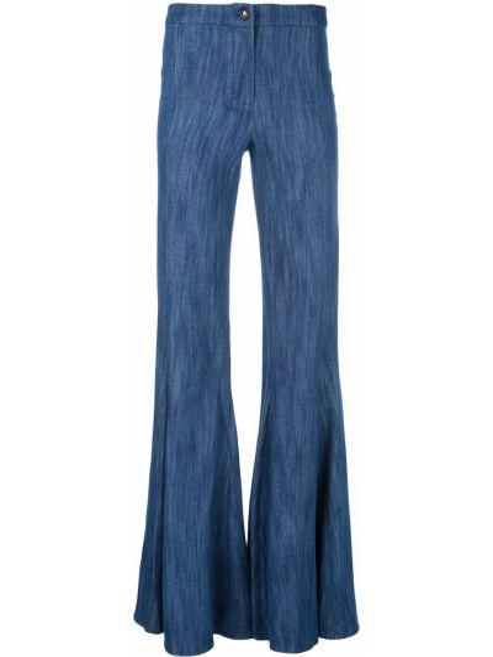 Синие джинсы на молнии Alexis