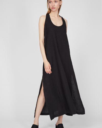 Льняное платье - черное Replay