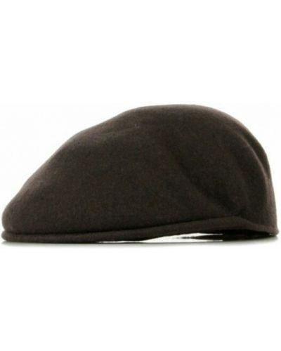Brązowa czapka Kangol