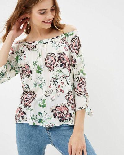 Блузка с открытыми плечами белая Q/s Designed By