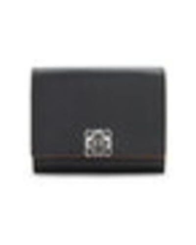 Czarny portfel Loewe