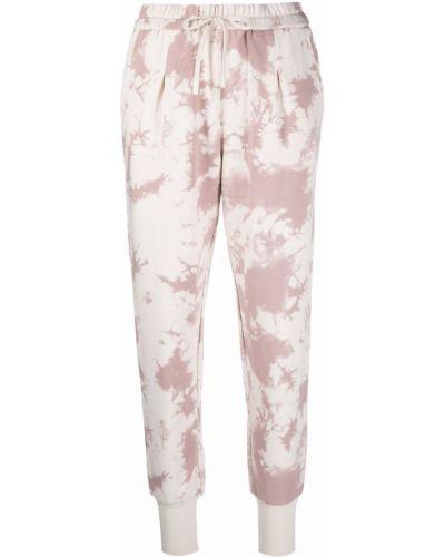 Białe spodnie bawełniane Varley