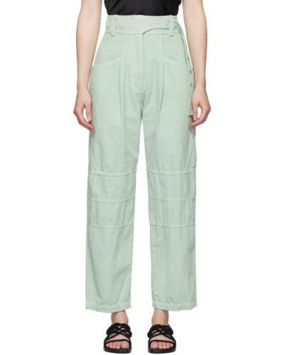 Bawełna bawełna spodni klasyczne spodnie z kieszeniami Low Classic