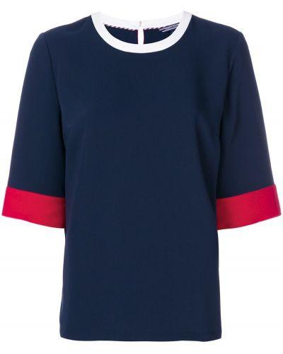 футболка дизайна колор-блок Tommy Hilfiger