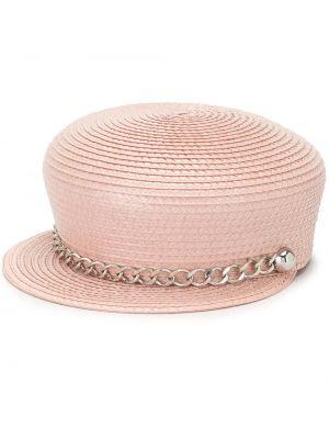 Шляпа с узкими полями - розовые Eugenia Kim