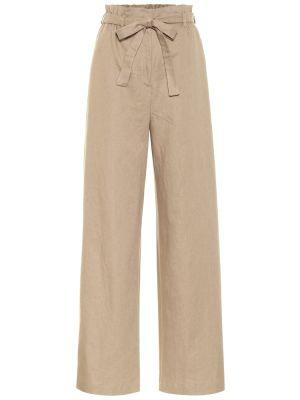 Льняные брюки Agnona