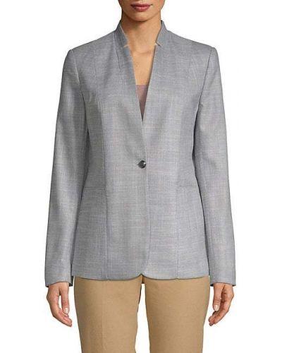 Длинная куртка с подкладкой с длинными рукавами с декольте T-tahari