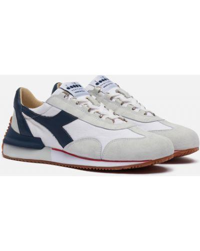 Белые кожаные кроссовки Diadora Heritage