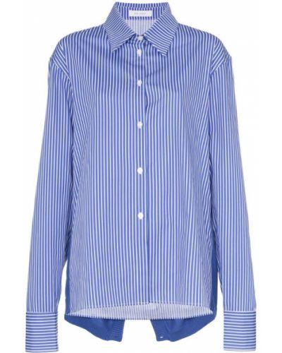 Синяя рубашка Delada
