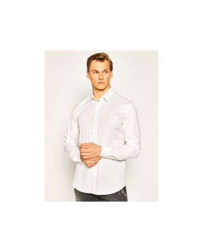 Biała koszula bawełniana Mcq Alexander Mcqueen