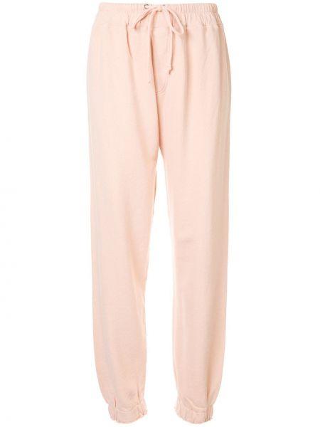 Спортивные брюки розовый с поясом Current/elliott