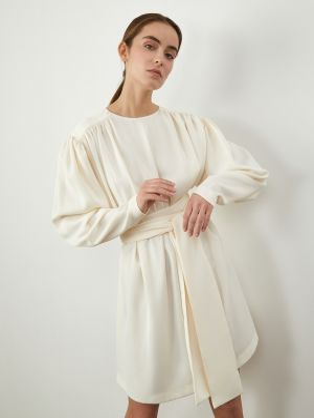 Платье мини с поясом 12storeez