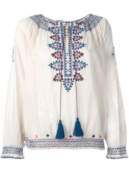 Блузка розовая с вышивкой Talitha