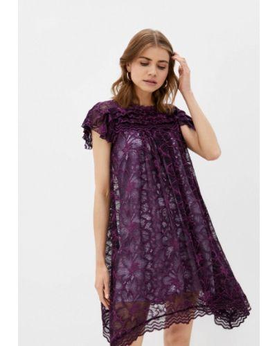 Фиолетовое вечернее платье мадам т