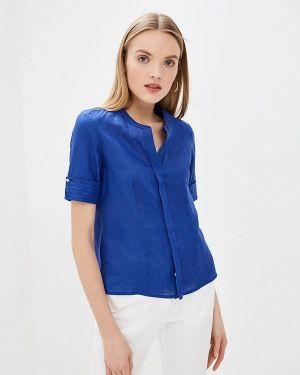 Блузка с коротким рукавом синяя весенний Pennyblack