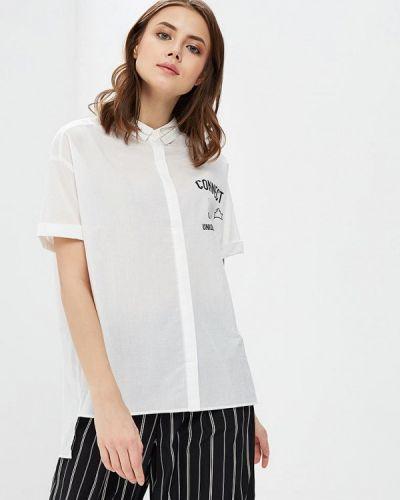 Рубашка с коротким рукавом белая H:connect