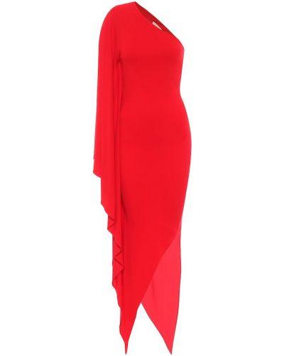 Sukienka midi z wiskozy Alexandre Vauthier