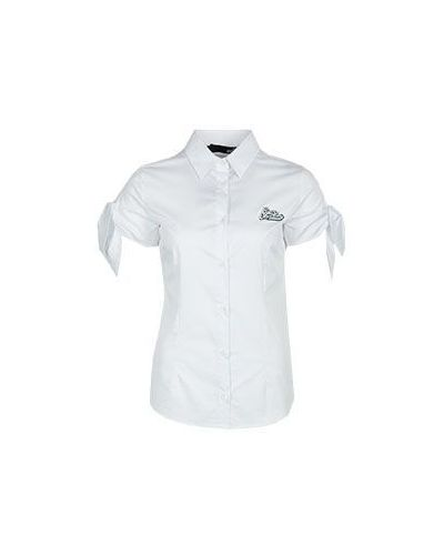 Белая рубашка Moschino Love