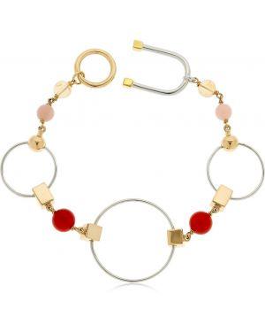 Złota bransoletka ze złota pozłacana kwarc Uribe
