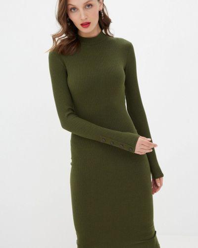 Зеленое вязаное платье Trendyangel