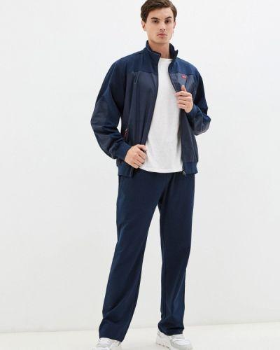 Синий турецкий спортивный костюм Bilcee