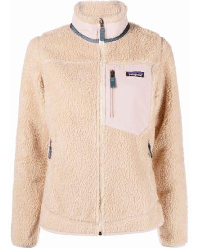 Длинная куртка - бежевая Patagonia