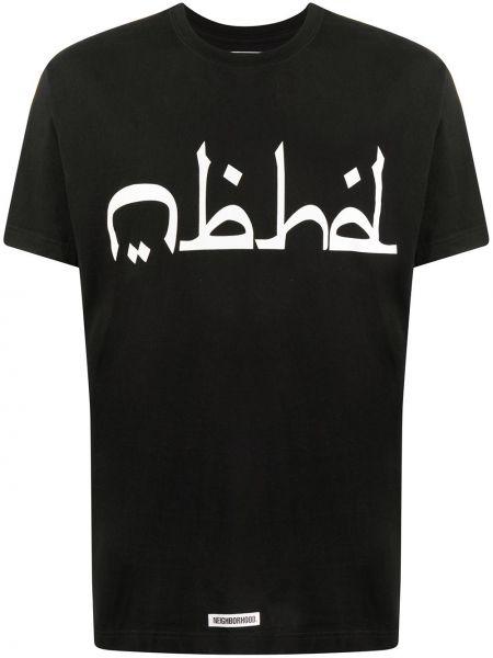 Koszula krótkie z krótkim rękawem z logo prosto Neighborhood