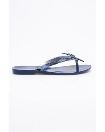 Синие сандалии Melissa