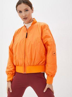 Утепленная куртка - оранжевая Adidas By Stella Mccartney