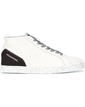 Кожаные кроссовки белый Hogan Rebel