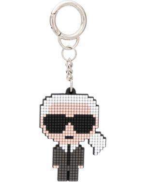 Брелок черный Karl Lagerfeld