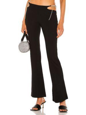 Czarne spodnie bawełniane Miaou
