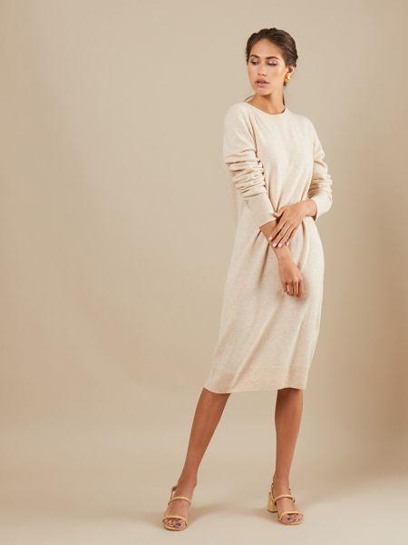 Платье кашемировое шерстяное 12storeez