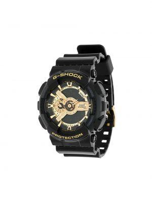Черные часы круглые G-shock