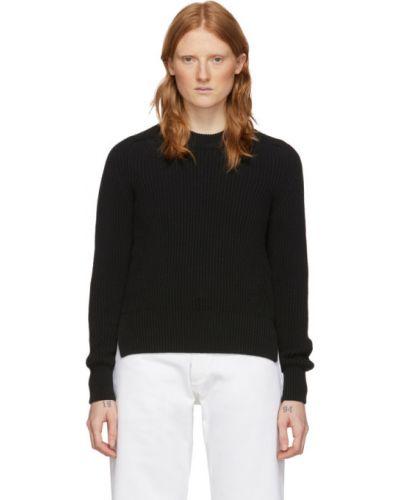 Черный свитер с воротником Ami Alexandre Mattiussi