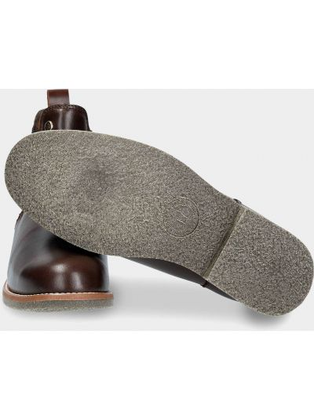 Кожаные ботинки челси - коричневые Panama Jack