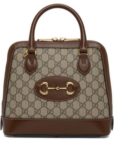 Baza włókienniczy beżowy top dwustronny Gucci