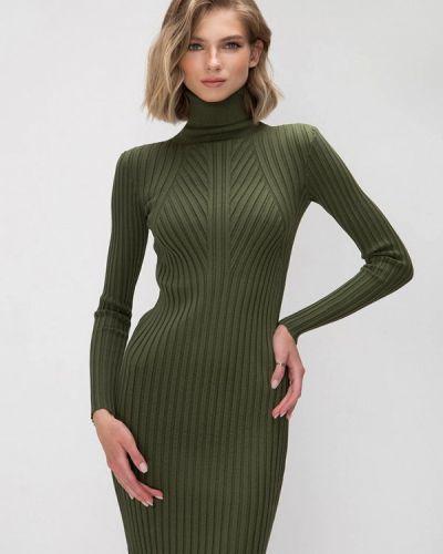 Вязаное зеленое платье Fors