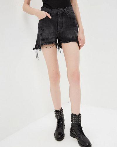 Джинсовые шорты черные One Teaspoon