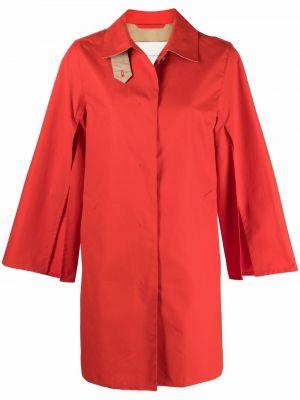 Оранжевое пальто короткое Mackintosh