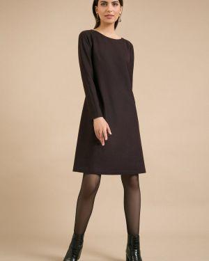 Повседневное платье с поясом платье-сарафан Emka