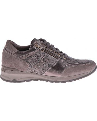 Кожаные кроссовки - коричневые Nero Giardini